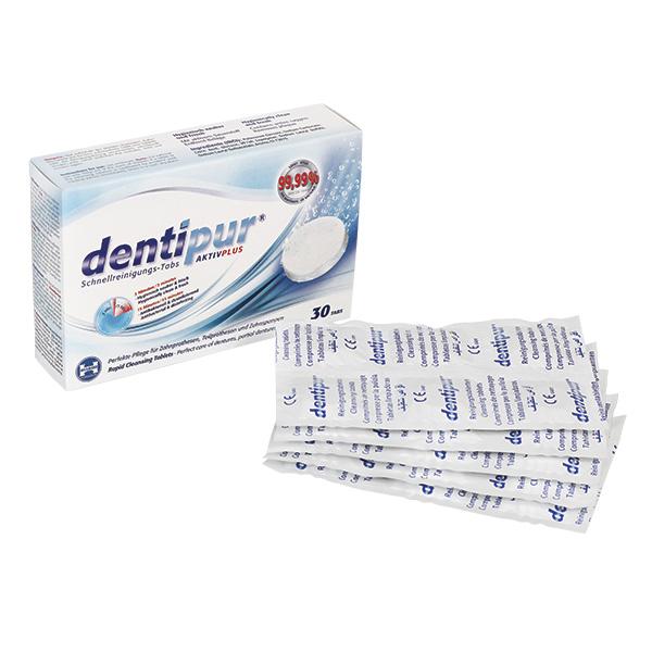 Tablete Dentipur za protezo ali ortodontski aparat
