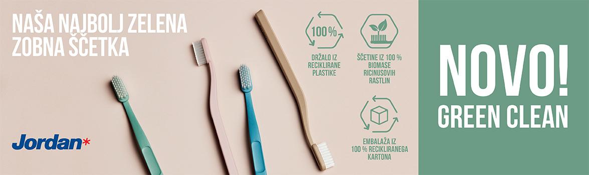 Jordan Green Clean - najbolj zelena zobna ščetka