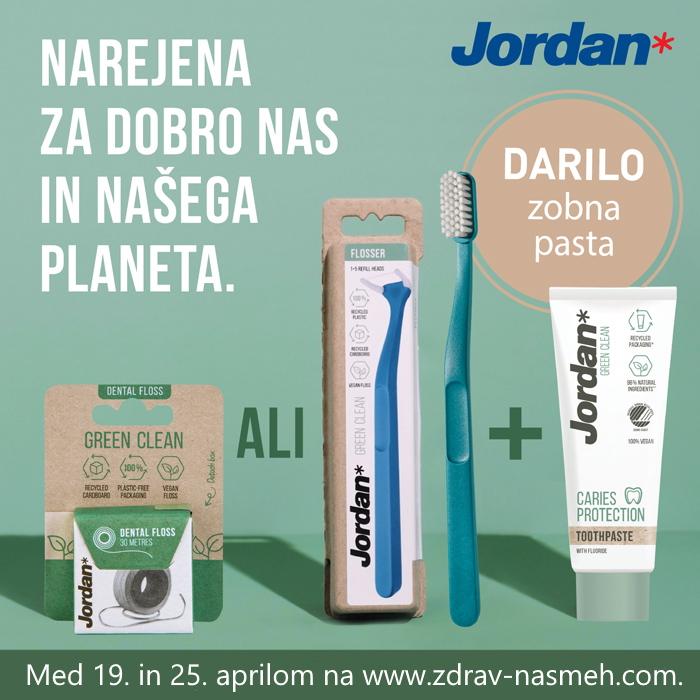 Jordan Green Clean kompleti za ustno zdravje