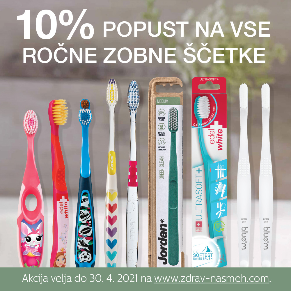 Popust na zobne ščetke