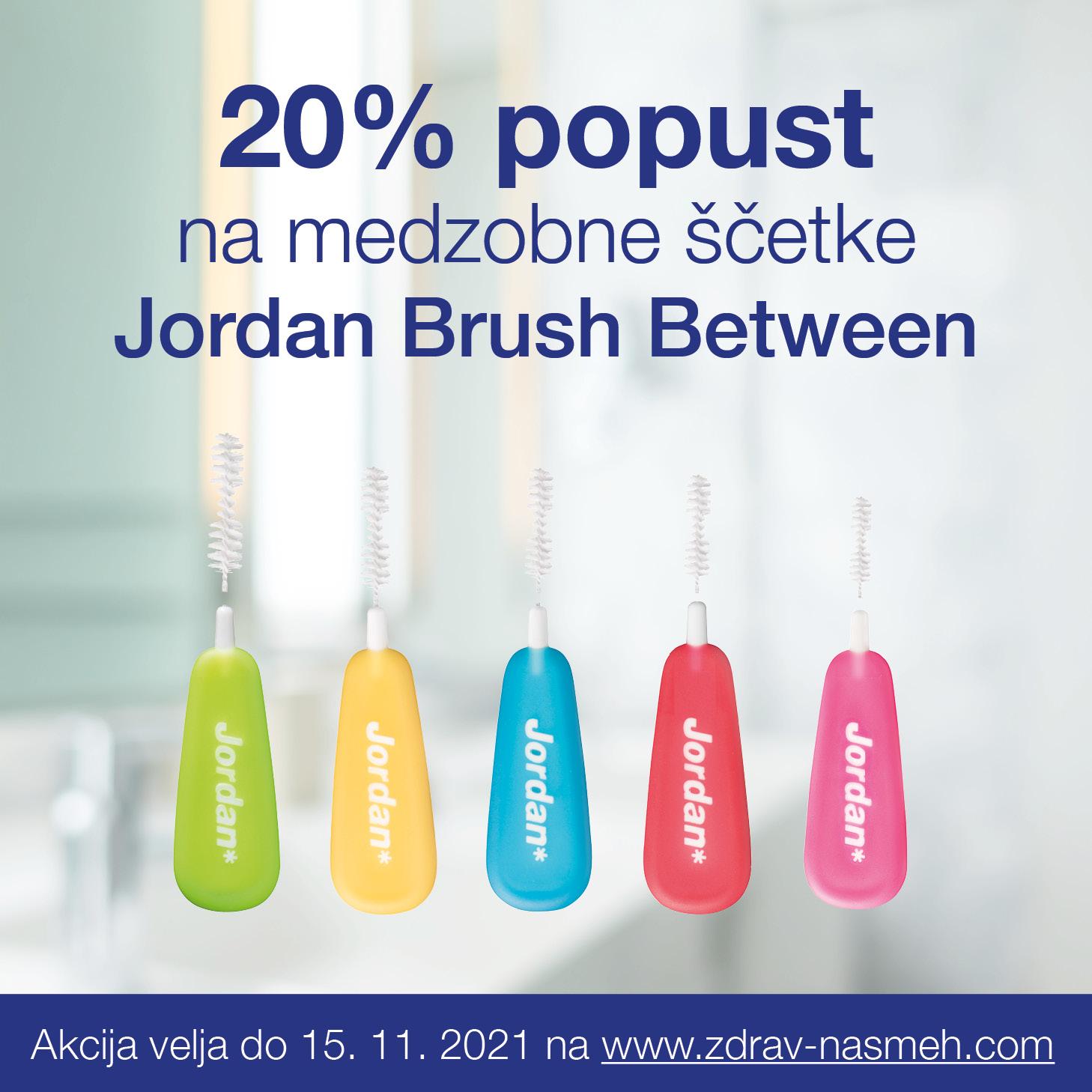 Jordan Brush Between -20% popust
