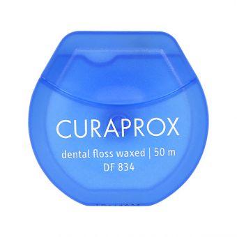 Zobna nitka CURAPROX DF 834 - povoščena