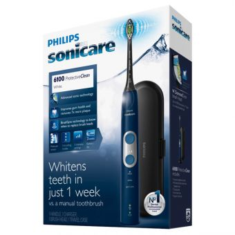 Električna zobna ščetka Sonicare ProtectiveClean 6100 Blue