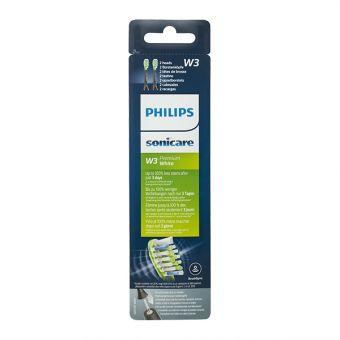 Nastavek Premium White w2 Black za električne zobne ščetke Philips Sonicare