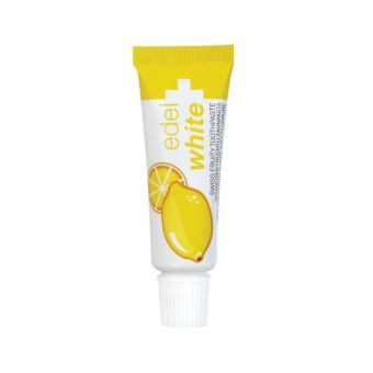Limona Edel+White 7 Früchtli, otroška zobna pasta